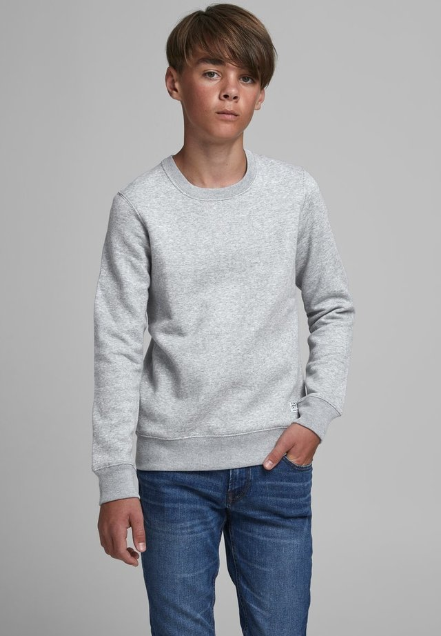 LOOPBACK - Sweater - light grey melange