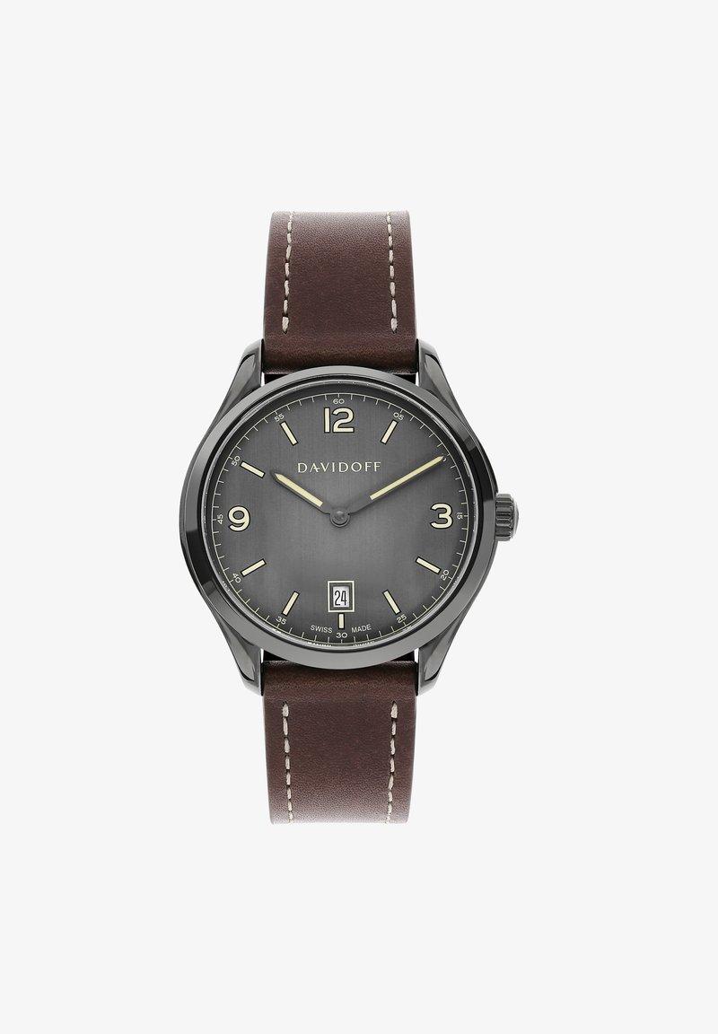 DAVIDOFF - ESSENTIALS  - Watch - grau-anthrazit
