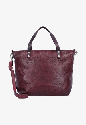 Shopping Bag - aubergine