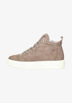 Sneakers hoog - taupe