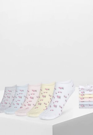 5 PAAR SOCKEN MIT BLUMEN 32765488 - Socks - multi-coloured