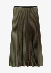 Mango - PLISADO - Spódnica plisowana - kaki - 7