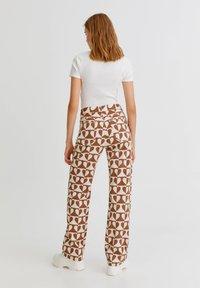 PULL&BEAR - Straight leg jeans - brown - 2