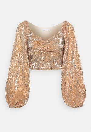 SEQUIN - Bluse - rose