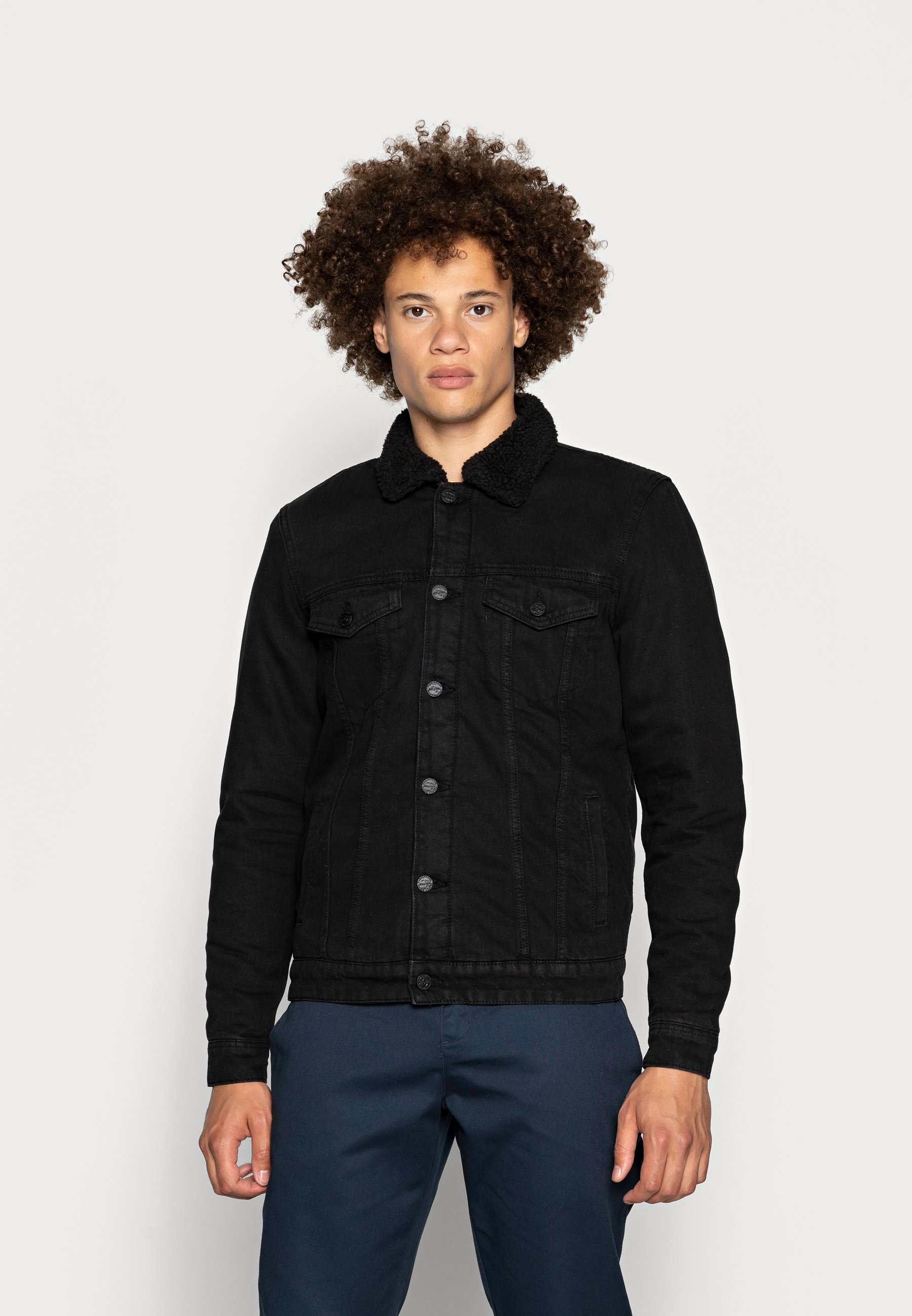 Uomo ONSLOUIS JACKET - Giacca di jeans