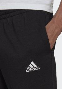 adidas Performance - SL ESSENTIALS SPORTS FRENCH TERRY PANTS - Pantaloni sportivi - black - 3