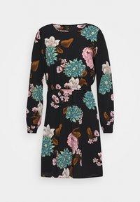 ONLY - ONLNOVA LUX SMOCK SHORT DRESS - Day dress - black - 5