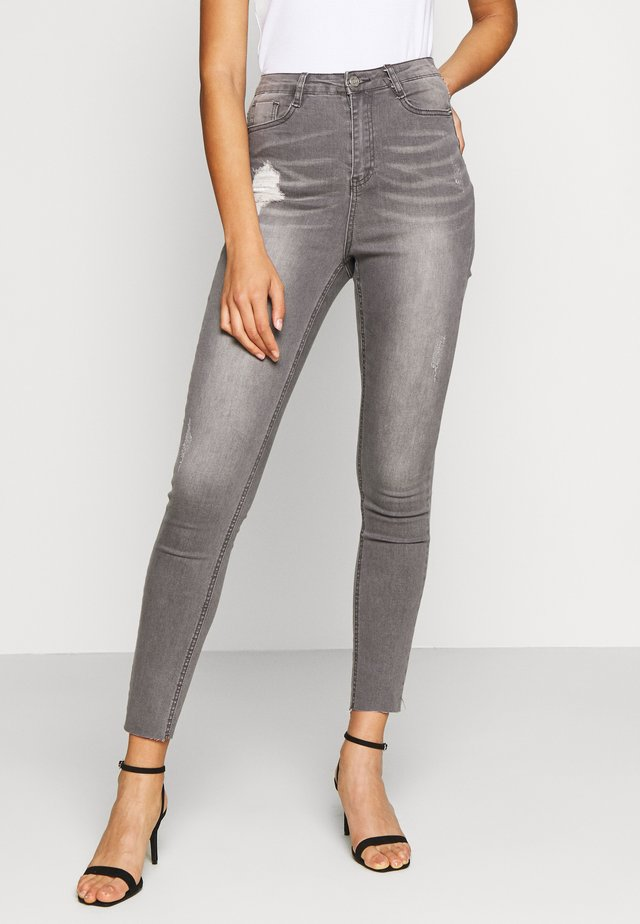 SINNER CLEAN DISTRESSED  - Jeans Skinny Fit - grey