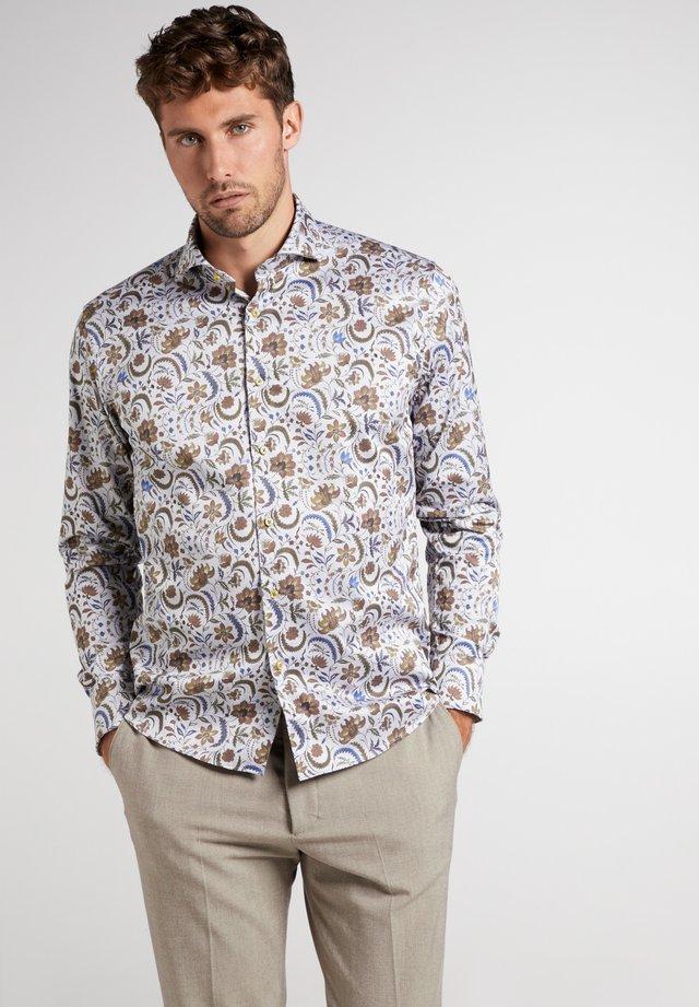 MODERN FIT - Overhemd - braun/grau