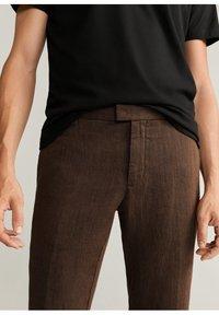Mango - Trousers - brun - 3