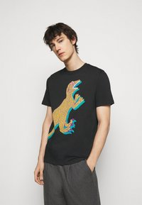 PS Paul Smith - MENS REGULAR FIT DINO - Print T-shirt - black - 0