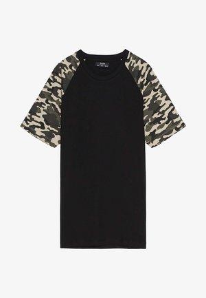 MIT RAGLANÄRMEL - Print T-shirt - black