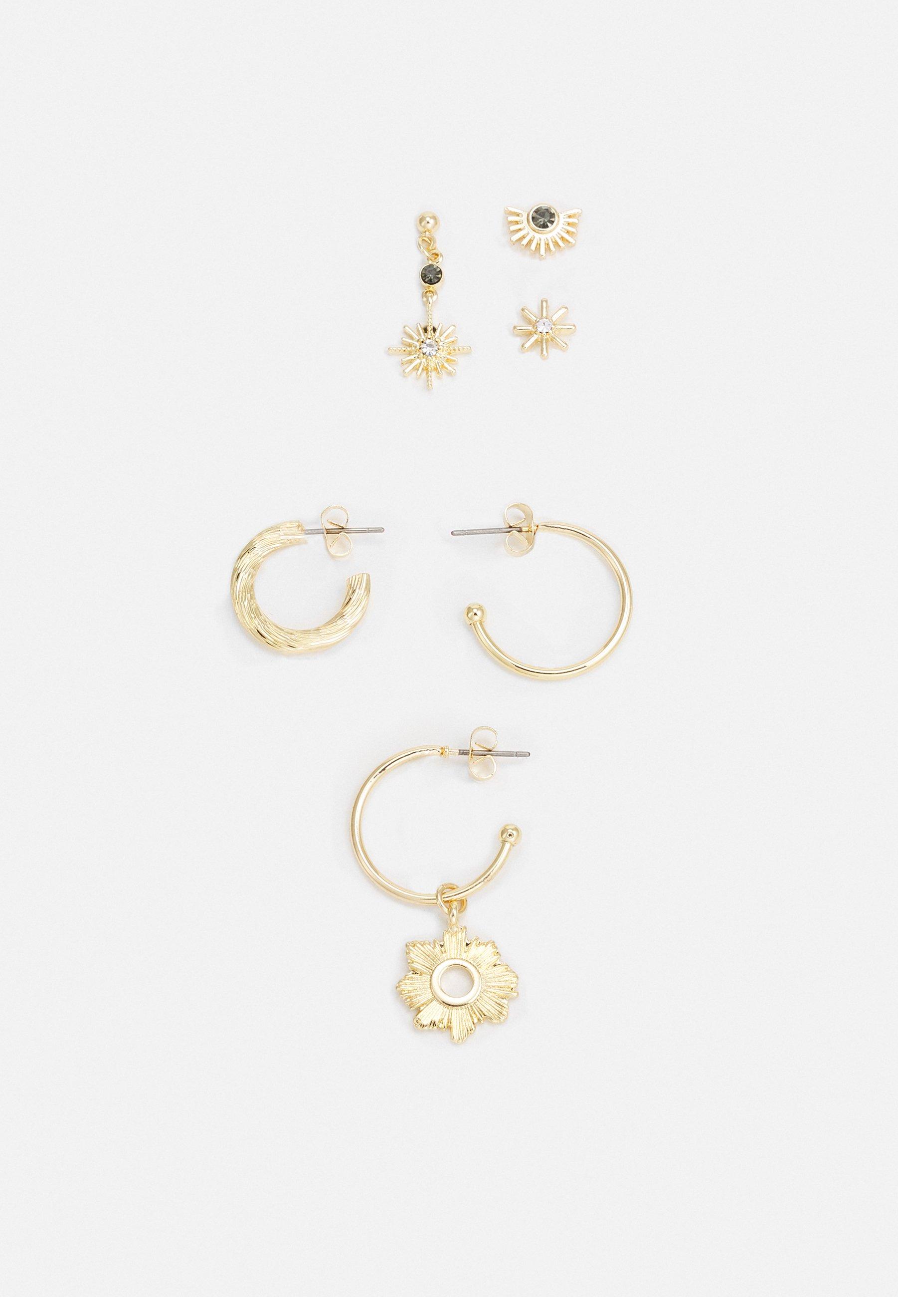 Women PCZOBIA SOLO EARRINGS 3 PACK - Earrings