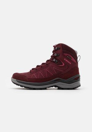 TORO EVO GTX® MID - Hiking shoes - burgundy