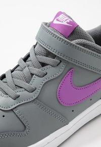 Nike Sportswear - COURT BOROUGH 2 - Sneakers basse - smoke grey/purple/watermelon/white - 2