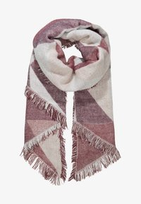 Even&Odd - Scarf - nude/bordeaux - 1
