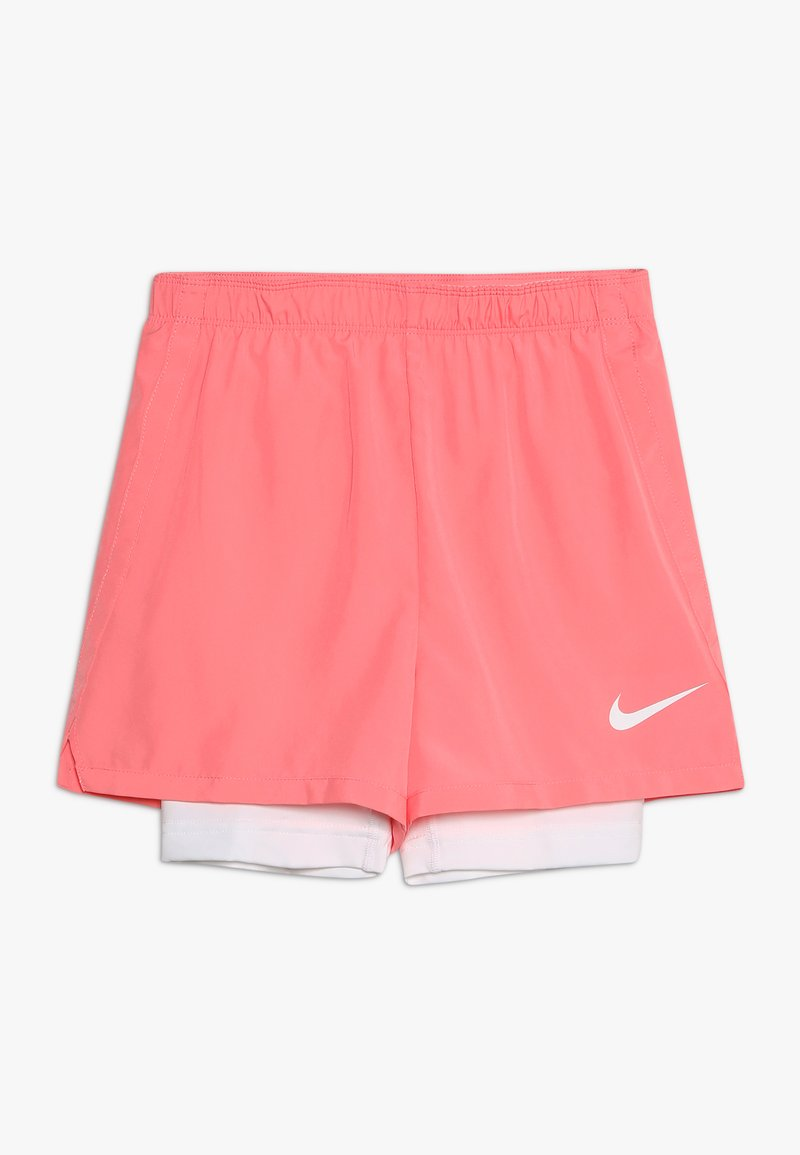 Nike Performance - DRY 2IN1 SHORT - Korte sportsbukser - pink gaze/white