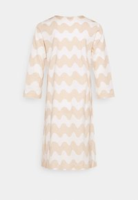 Marimekko - CLASSICS RIIPPUMATON PIKKUINEN LOKKI DRESS - Jersey dress - white/beige - 8