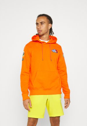 NOVELTY PATCH HOODIE - Hoodie - flame