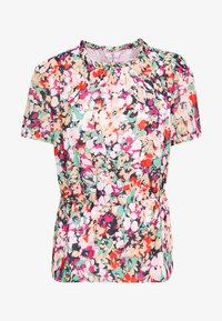 J.CREW - CRINKLE CYRANO FLORAL - Blouse - cranberry pink - 3