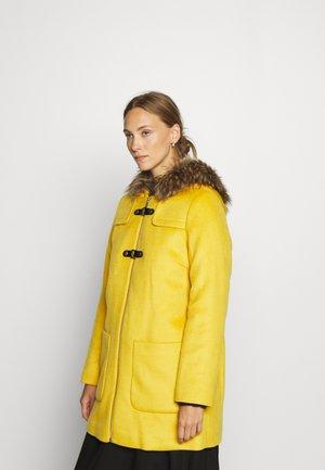 Zimní kabát - amber yellow