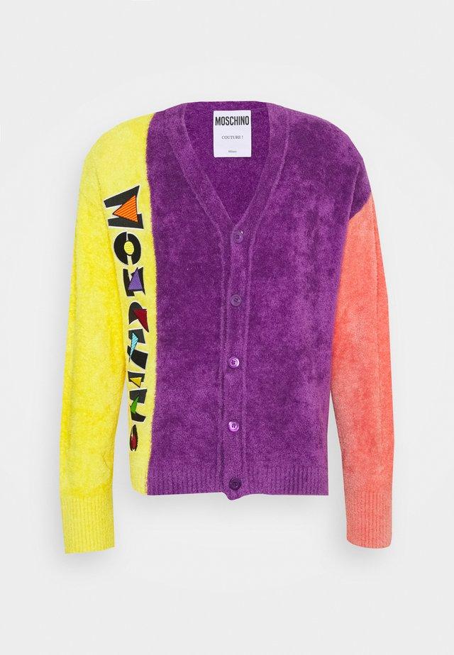 Strickjacke - violet