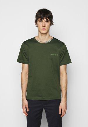 MANICA CORTA - Print T-shirt - dark green