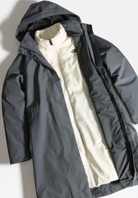 The North Face - W RECYCLED SUZANNE TRICLIMATE - Waterproof jacket - vanadis gry/vintage white - 3