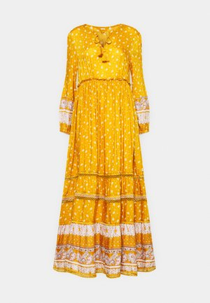AMEERA DRESS - Maxi šaty - ochre