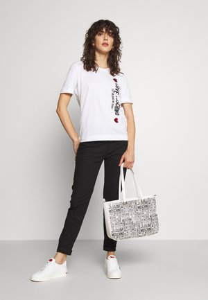 GRAFFITI - Handbag - white