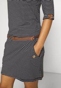 Ragwear - TANYA - Jersey dress - black - 6