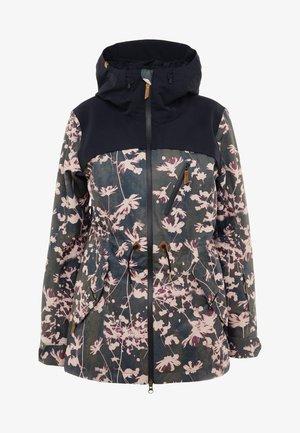 STATED  - Snowboard jacket - true black poppy