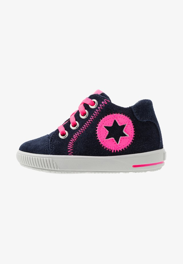 MOPPY - High-top trainers - blau/rosa