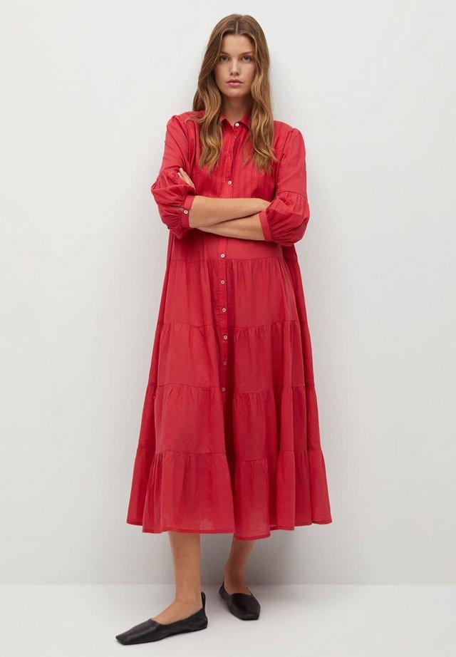LOVER-A - Shirt dress - geranienrosa