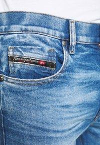 Diesel - D-STRUKT - Jeans Skinny Fit - medium blue - 3