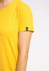 Haglöfs - Basic T-shirt - pumpkin yellow - 3