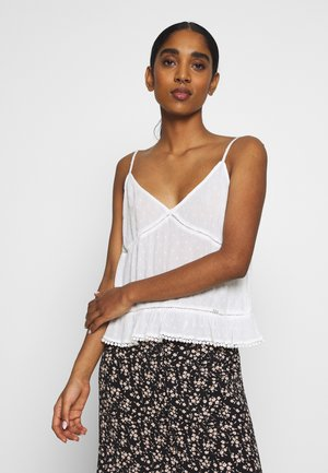 SUMMER CAMI - Top - white