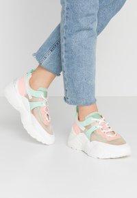 Steve Madden - ARIS - Sneakers - mint/multicolor - 0