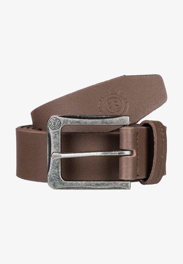 Belt - chocolate