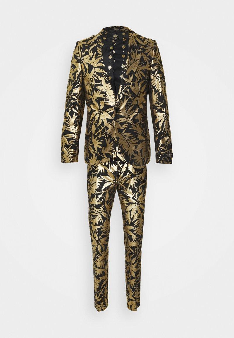 Twisted Tailor - MAMBO SUIT SET - Puku - black gold