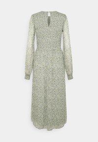 Vero Moda Tall - VMSIFFY O NECK SMOCK CALF DRESS - Day dress - desert sage - 1