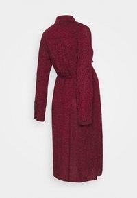 JoJo Maman Bébé - SPOT DRESS - Vestido camisero - wine - 1