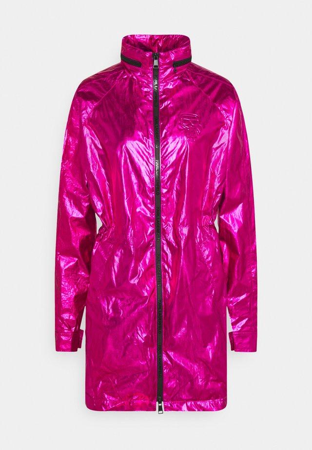 IKONIK - Parka - metallic pink