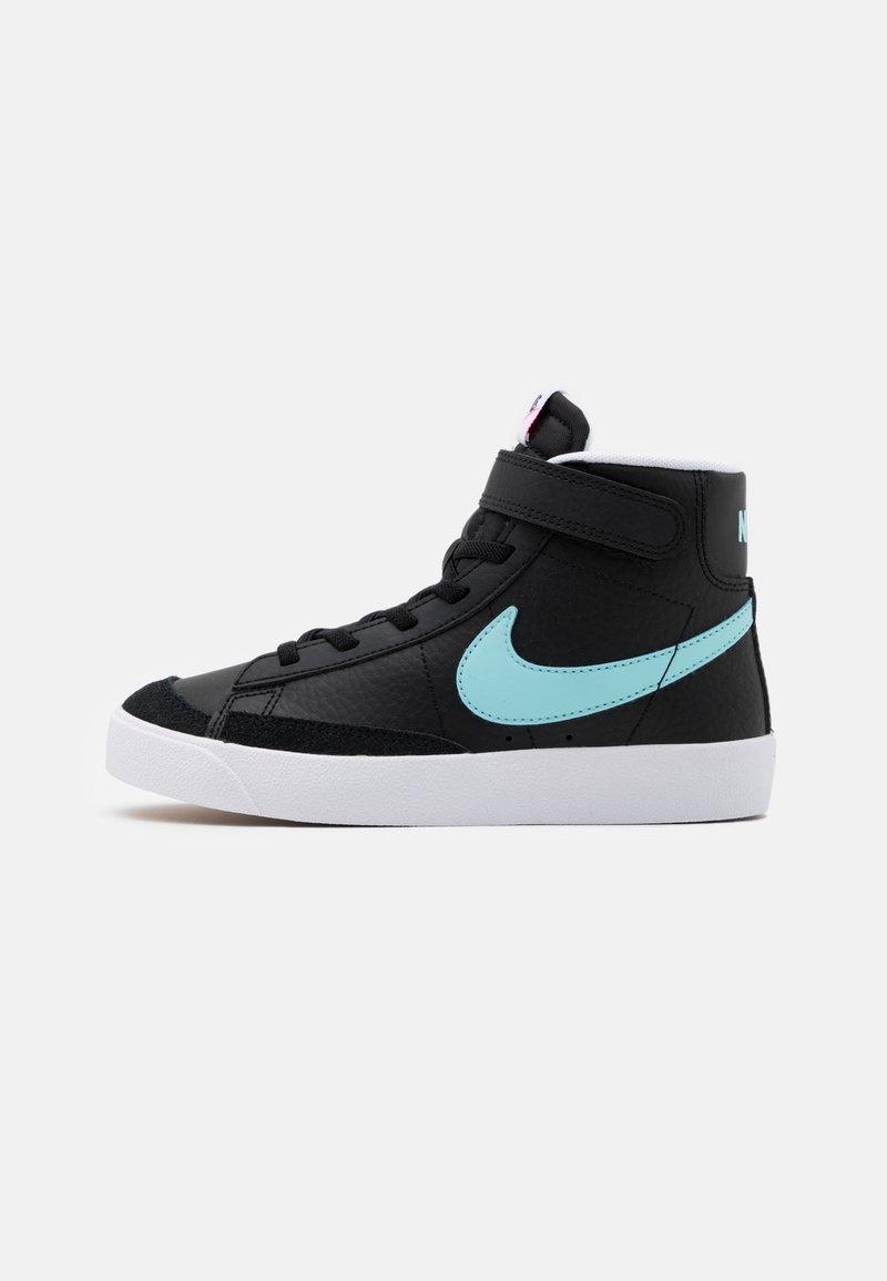 Nike Sportswear - BLAZER MID '77 UNISEX - High-top trainers - black/glacier ice/white/pink glow