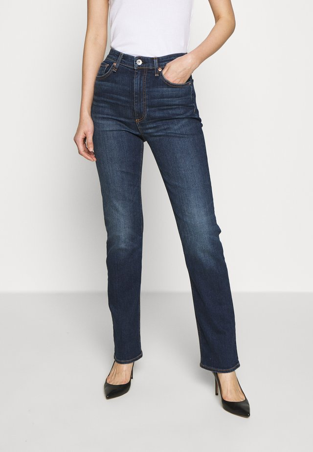 NINA CIGARETTE - Jean slim - blue denim