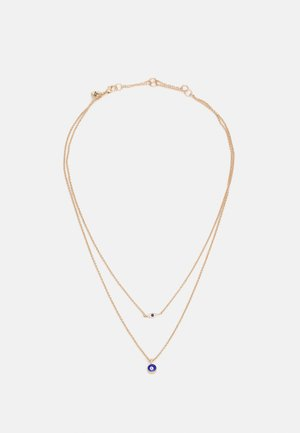 GLOIA - Halskette - capri blue/gold-coloured