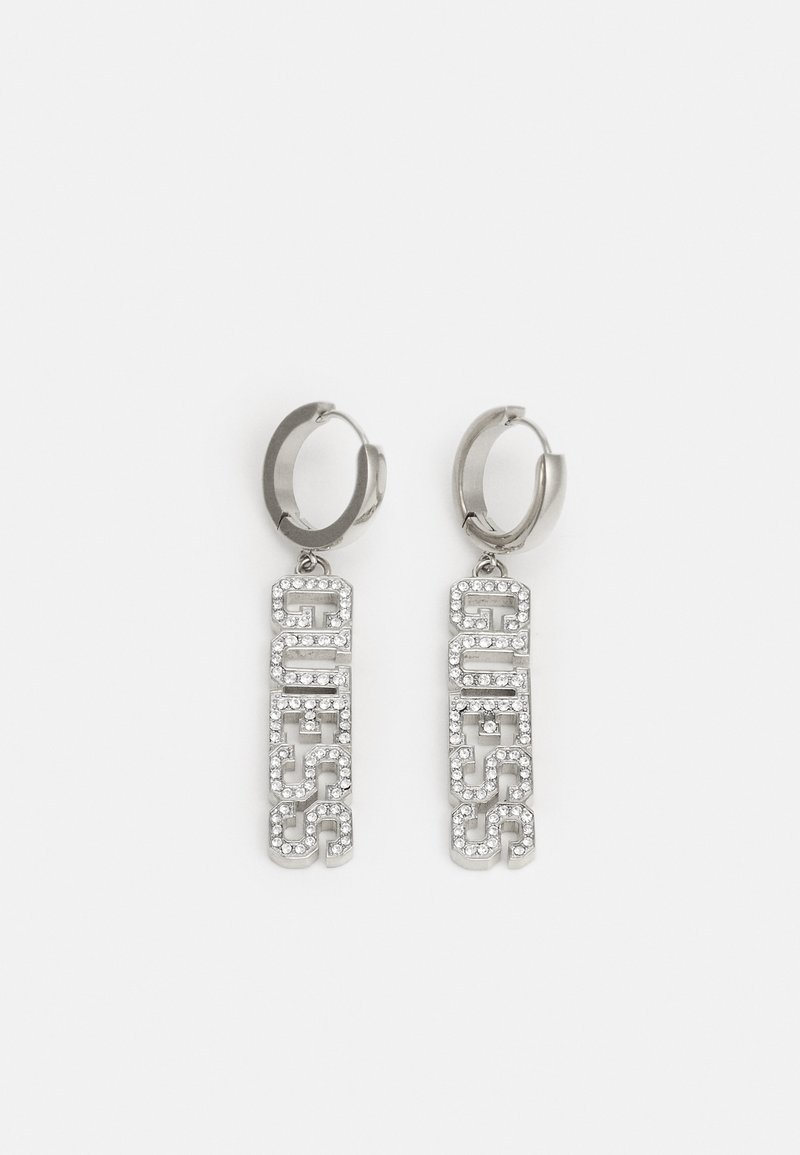 Guess - COLLEGE - Earrings - silver-coloured