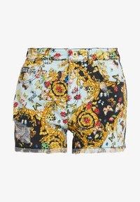 Versace Jeans Couture - Denim shorts - menta - 4