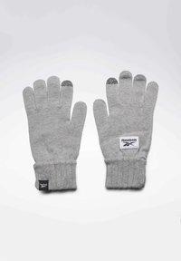 Reebok - ACTIVE FOUNDATION KNIT GLOVES - Rękawiczki pięciopalcowe - grey - 0