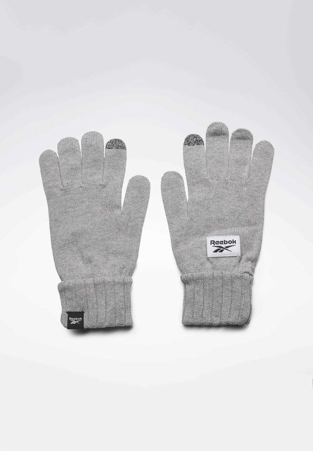 ACTIVE FOUNDATION KNIT GLOVES - Rękawiczki pięciopalcowe - grey